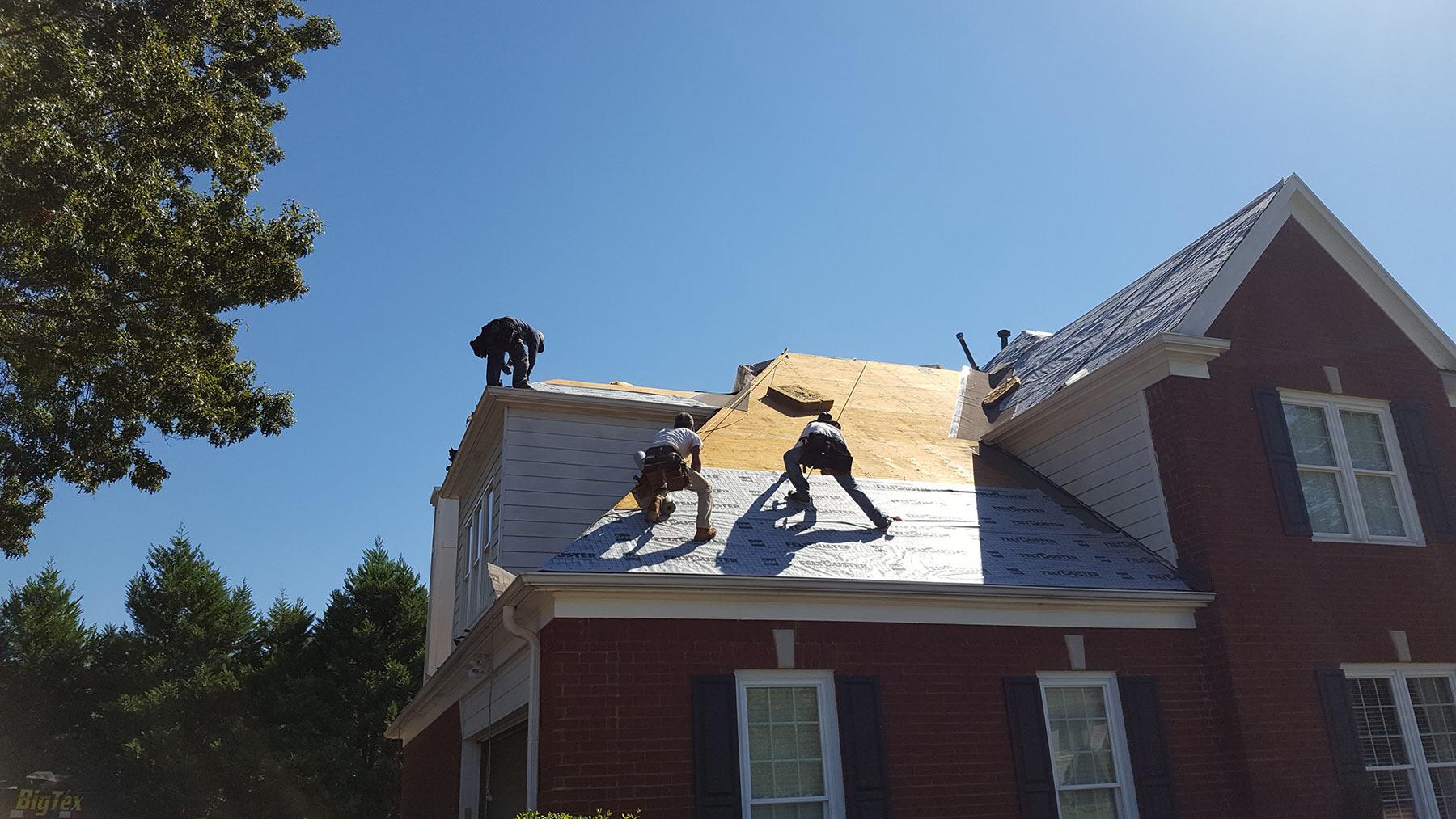 Gaf Timberline Hd Roof Pewter Grey In Germantown Tn