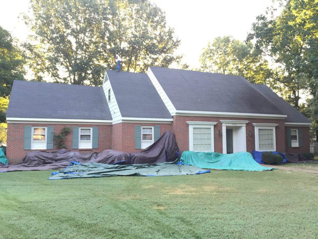 GAF Timberline HD roof installed in Germantown
