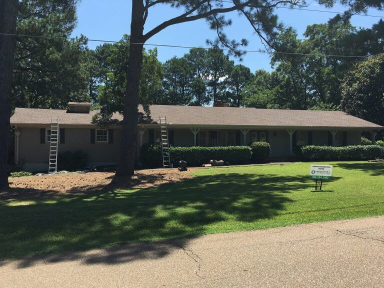 GAF Timberline HD Barkwood Roof in Collierville, TN
