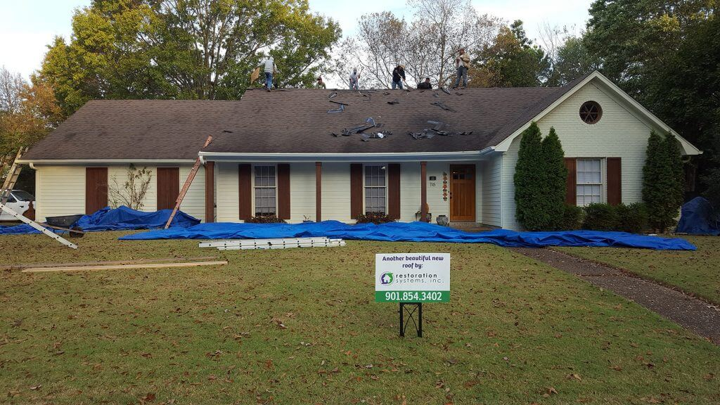 GAF Timberline HD Barkwood in Collierville, TN