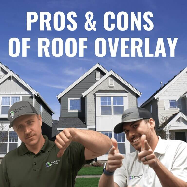 Pros and Cons of a Roof Overlay