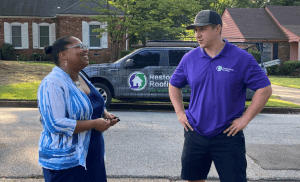Restoration Roofing Provided Free Roof for Memphis Teacher