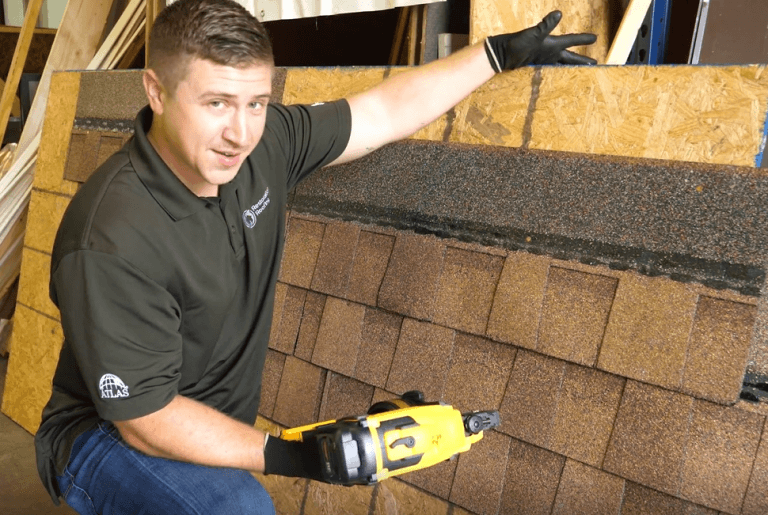 How to Nail Roofing Shingles