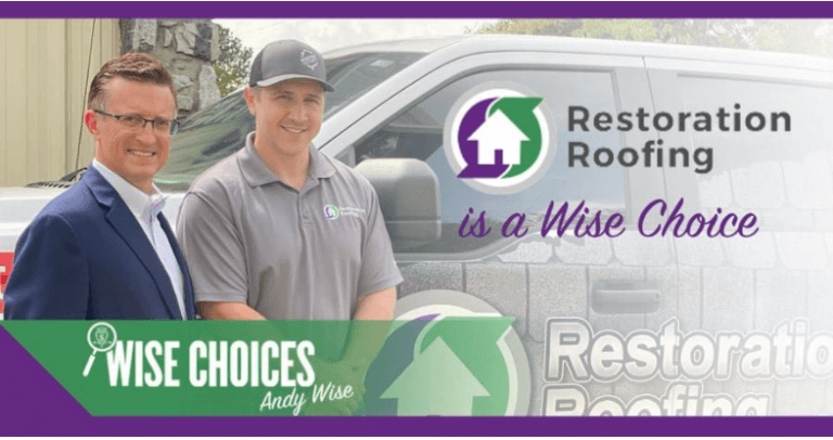 Restoration Roofing Selected as Wise Choice