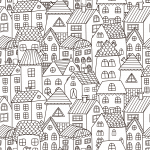 Restoration Roofing Coloring Pages
